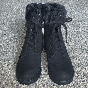 NWT Old Navy Black Combat Boots